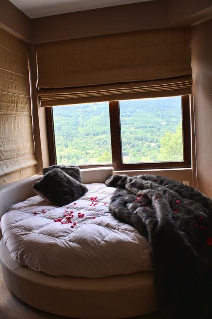 круглая кровать фото 2