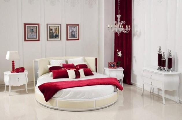 Круглая кровать – изюминка (12)