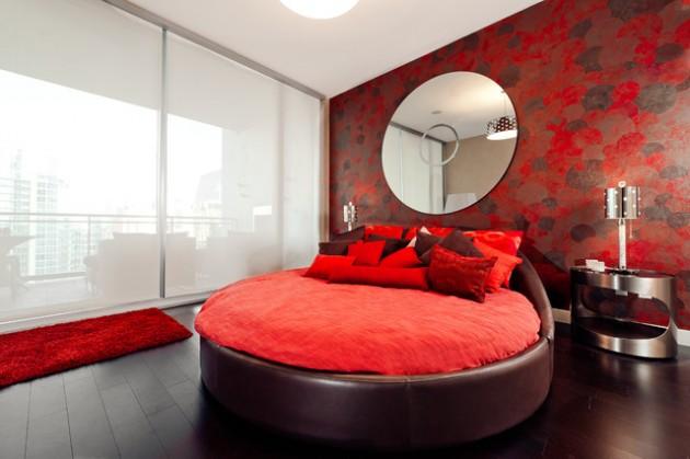 Круглая кровать – изюминка (14)