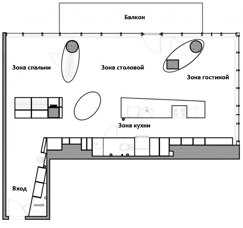 Квартира после переделки