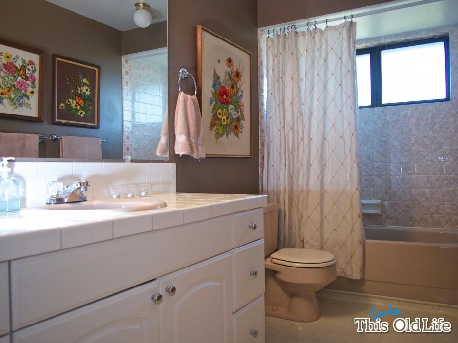 Интерьер ванной после ремонта