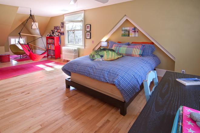 Спальня с подвесным креслом 4