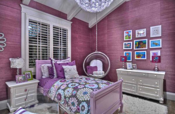 Спальня с подвесным креслом 2