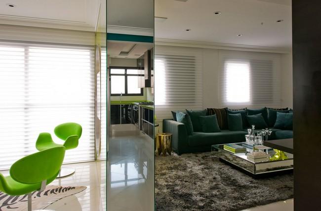Стильная квартира - комната