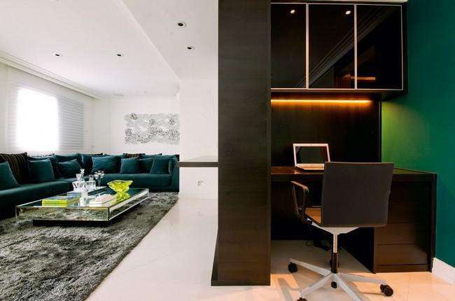 Стильная квартира - домашний офис