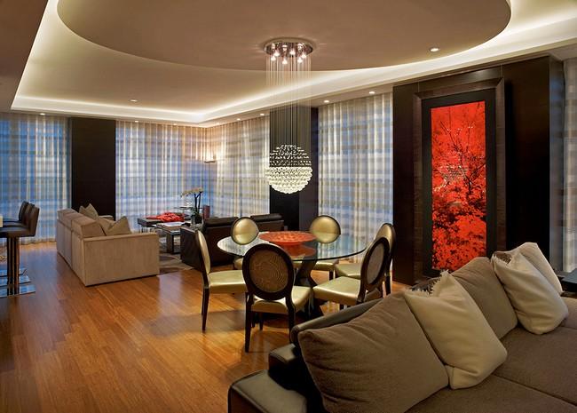 Интерьер красивой квартиры - гостиная