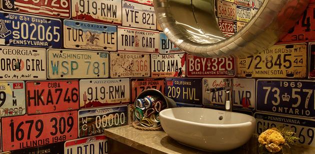 проект квартиры - оформление ванной