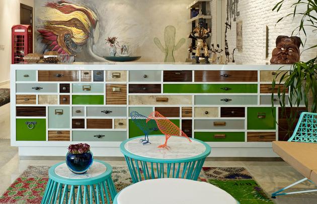 проект квартиры - мебель