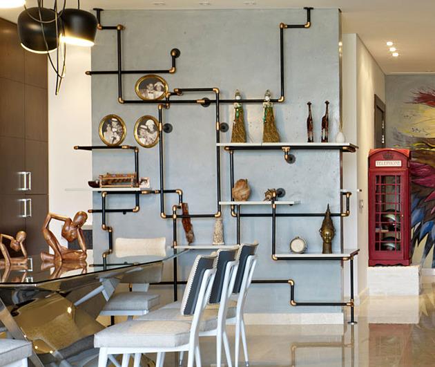 проект квартиры - детали интерьера