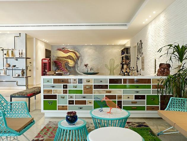 проект квартиры - самобытная мебель