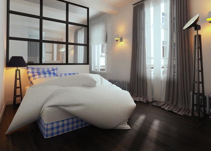 Стильный дизайн спальни 8