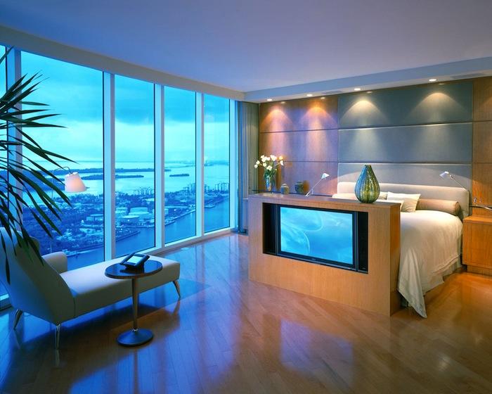 Стильный дизайн спальни 7