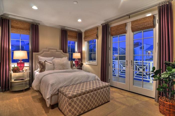 Стильный дизайн спальни 4