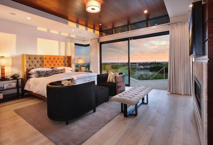 Стильный дизайн спальни 1