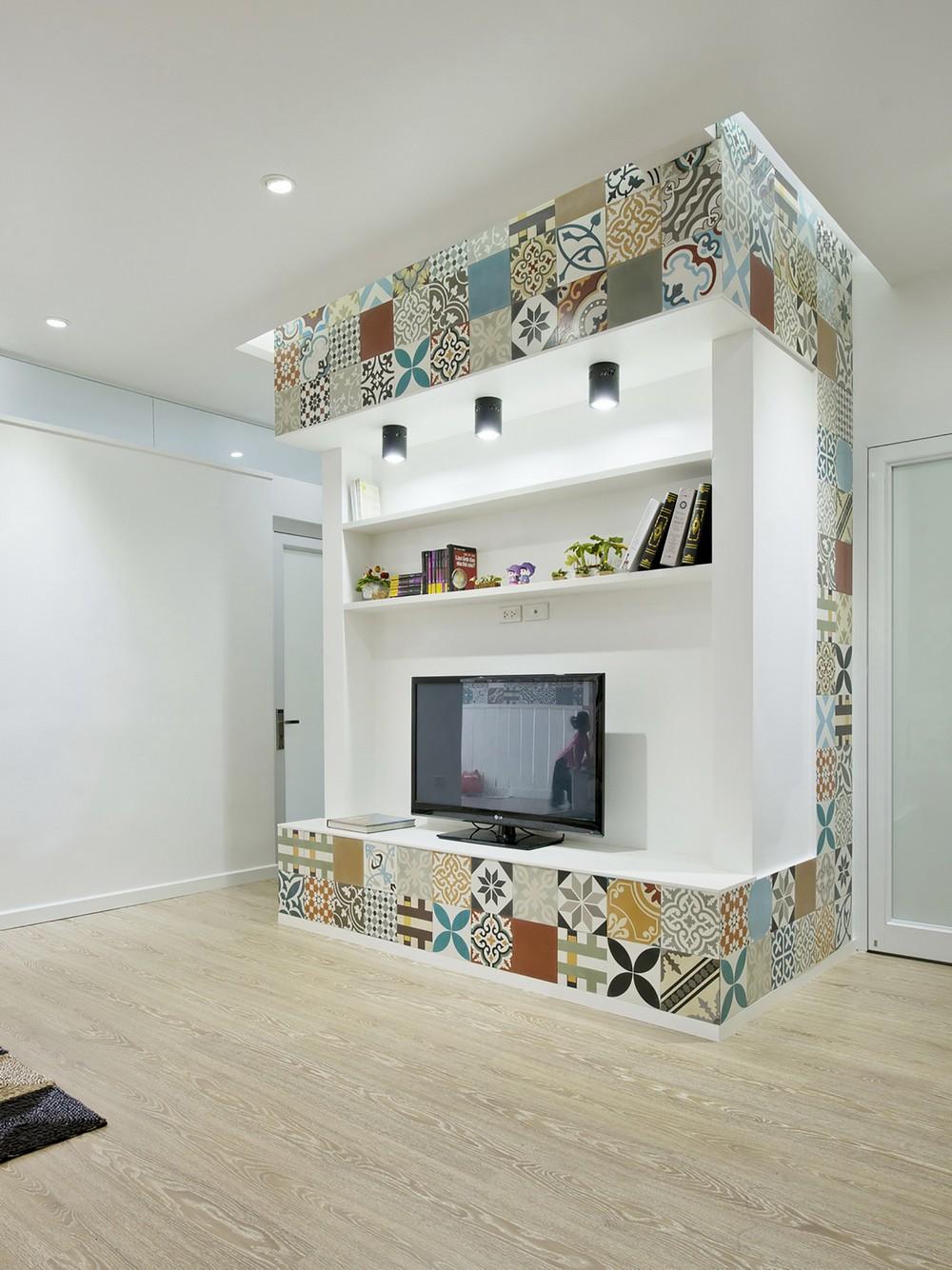 уютная квартира - телевизор