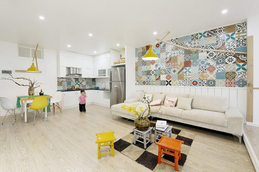 уютная квартира - фото гостиной