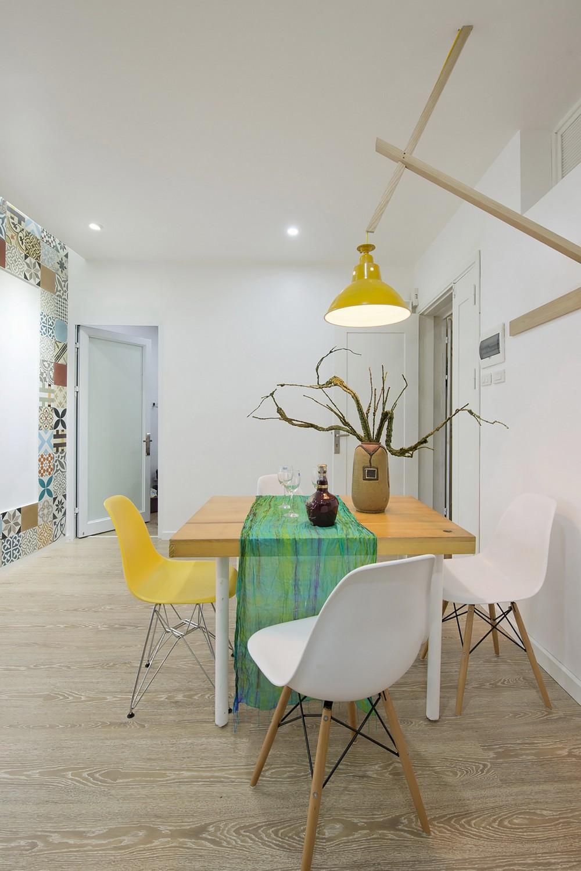 уютная квартира - фото столовой