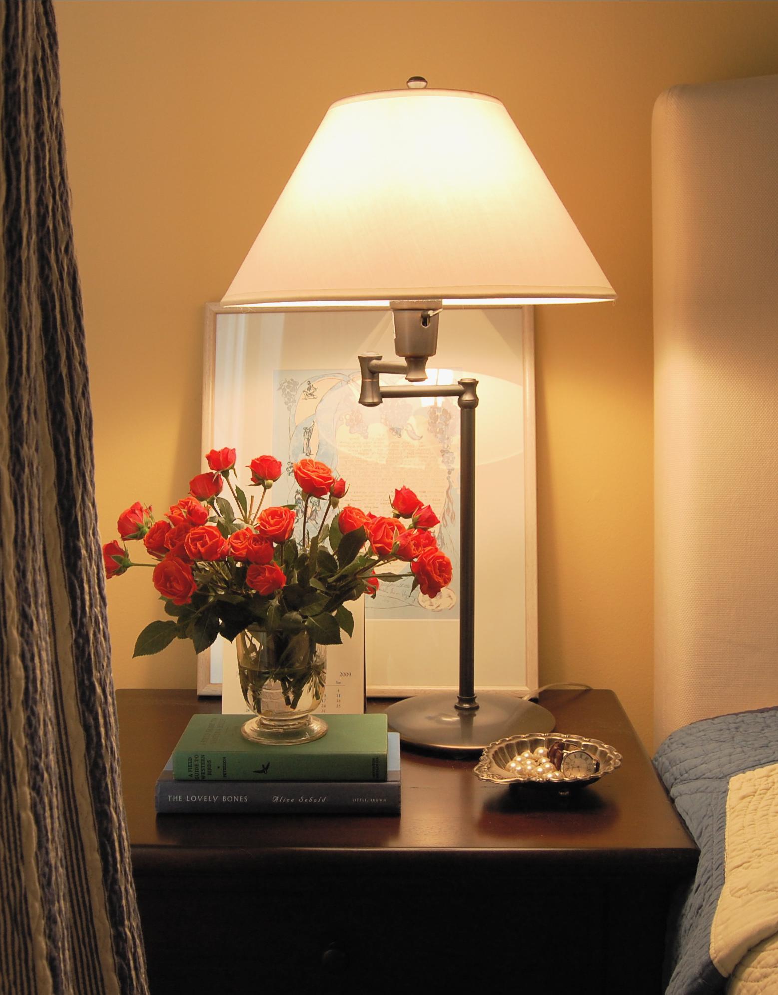 спальня в осеннем стиле
