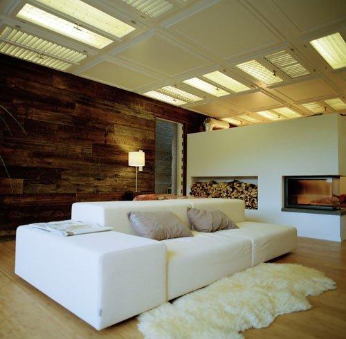 Оформление потолка идея 10