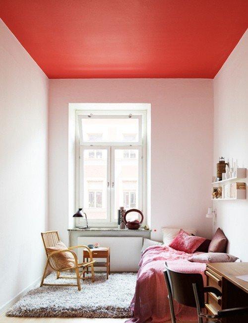 Оформление потолка идея 3