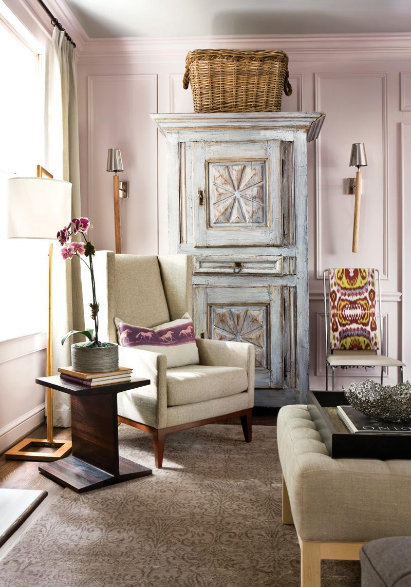 Изысканный интерьер гостиной фото 4