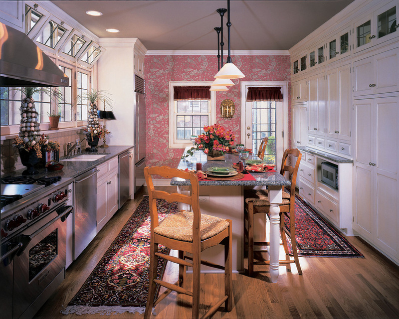 Текстурированные кухонные обои