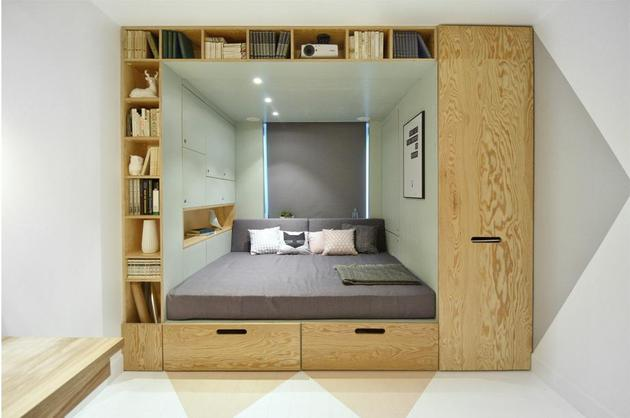 Дизайн комнаты 14 кв. м  фото (3)