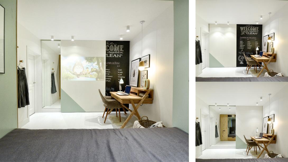 Дизайн комнаты 14 кв. м  фото (7)