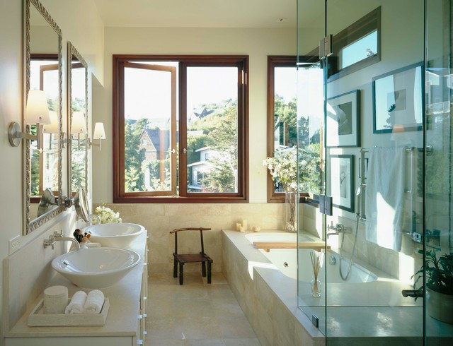 Окно в ванной комнате фото (17)