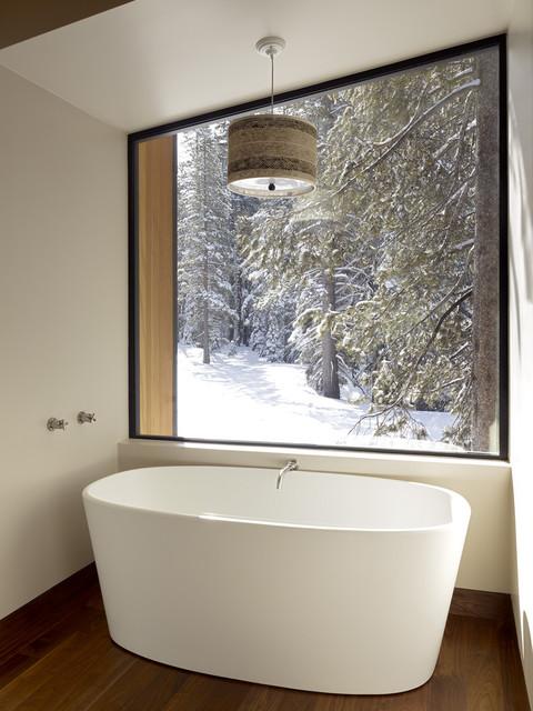 Окно в ванной комнате фото (18)