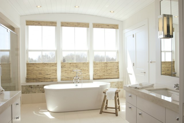 Окно в ванной комнате фото (29)