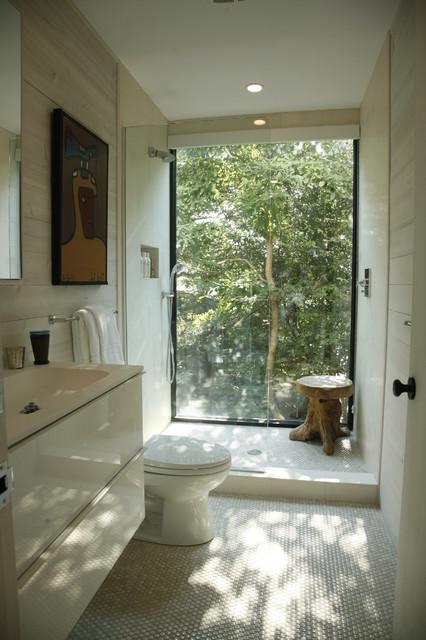 Окно в ванной комнате фото (6)