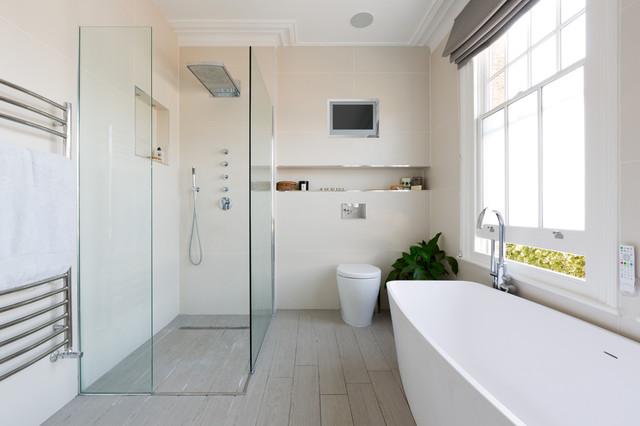 Окно в ванной комнате фото (9)