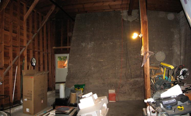 Спальня в цокольном этаже фото (4)