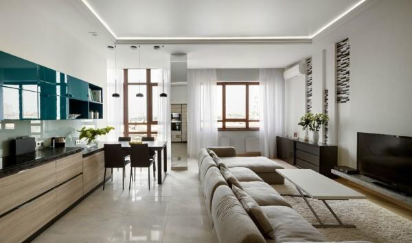 Просторная трехкомнатная квартира (1)