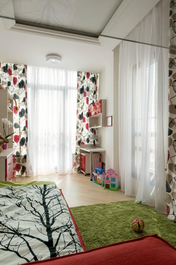 Просторная трехкомнатная квартира (14)