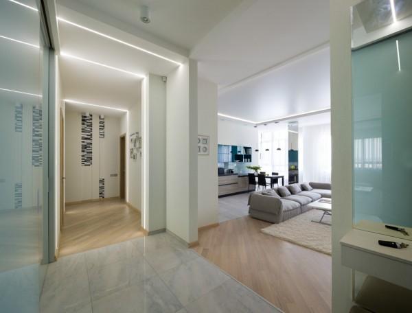 Просторная трехкомнатная квартира (9)