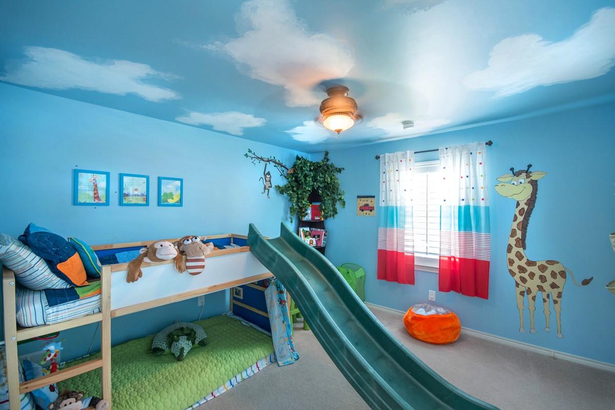 Зонирование комнаты ребенка
