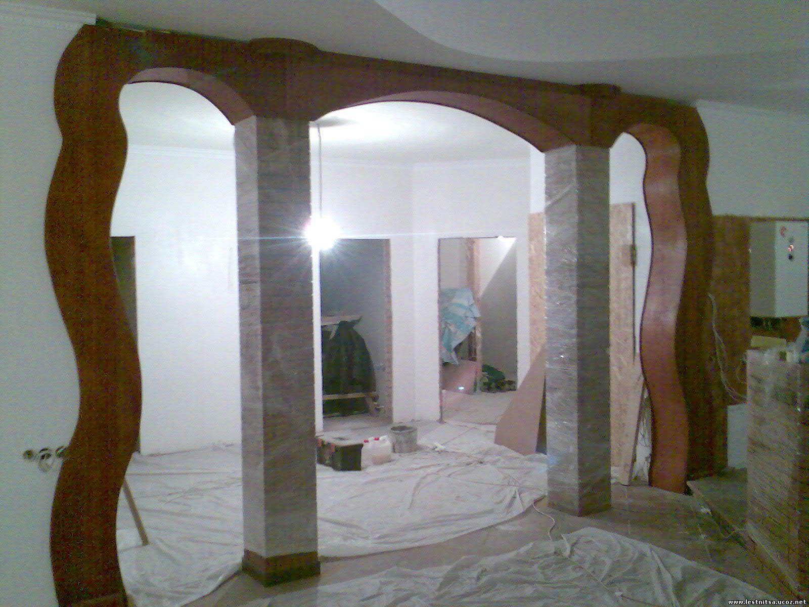 Изготовление арок из дерева
