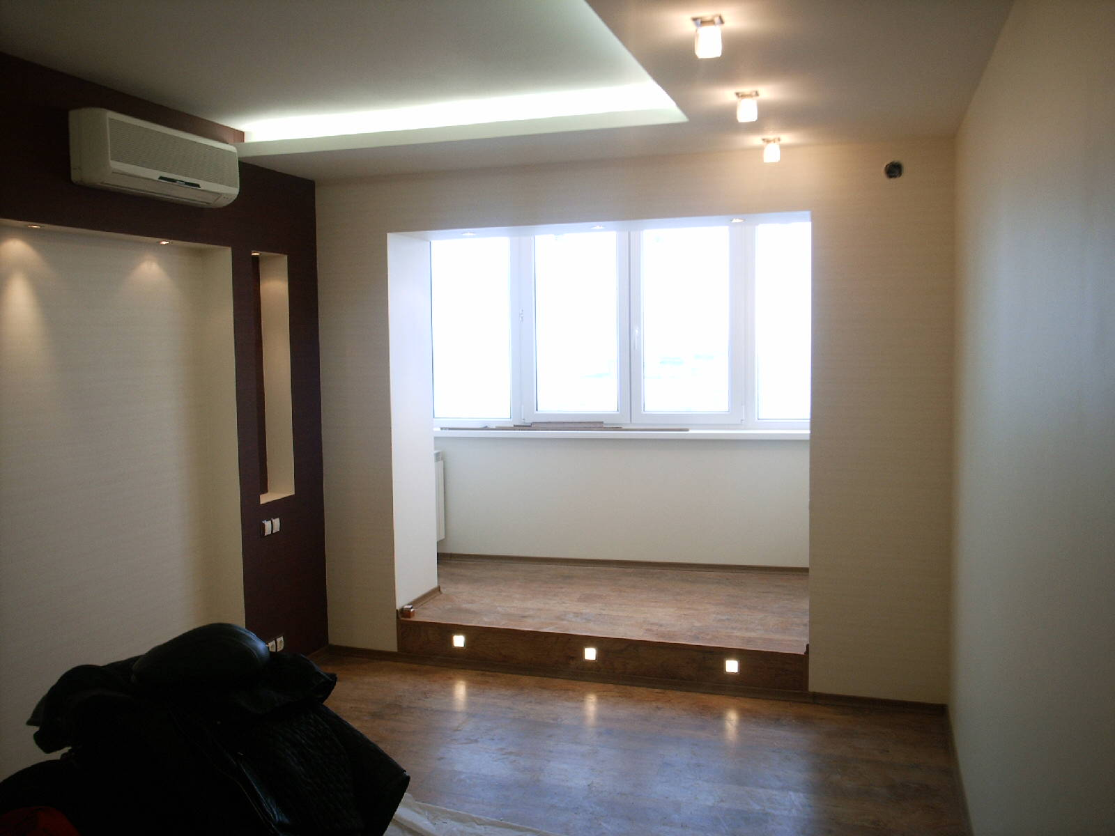 Полезная жилплощадь - объединение лоджии или балкона с комна.
