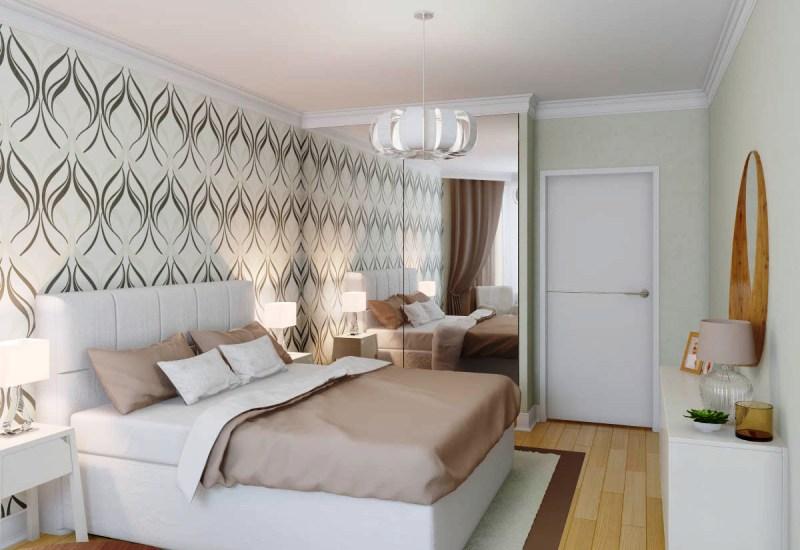 Дизайн спальни в хрущевку фото