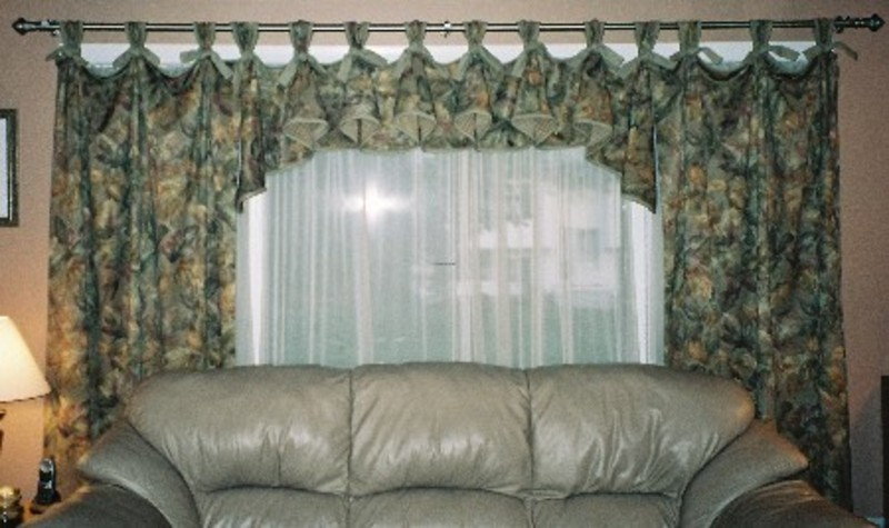 Living room curtains decoration are not much more than blocking the sunlight and keep your privacy.