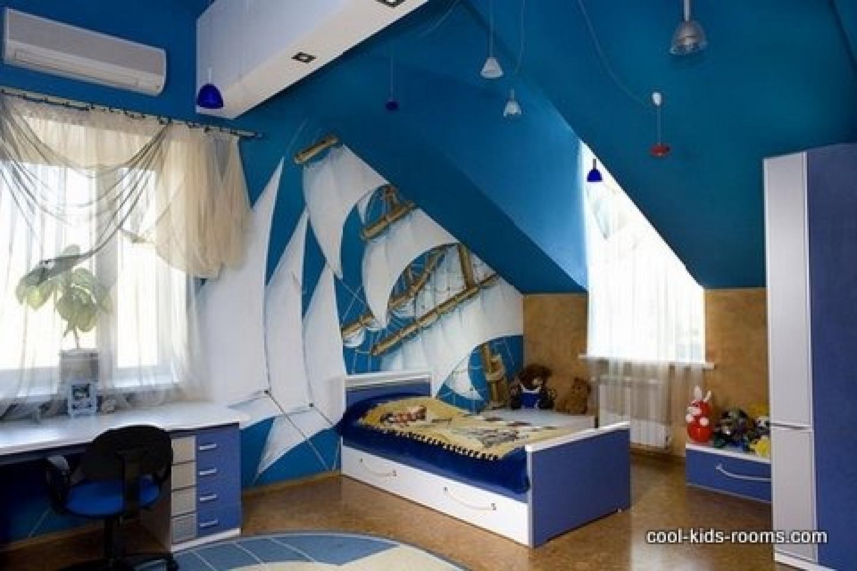 Originalnyie-idei—dizayn-detskoy-komnatyi-dlya-malchika 5