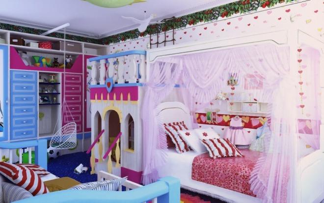 Printsu-i-printsesse--dizayn-detskoy-dlya-raznopolyih-detey 7