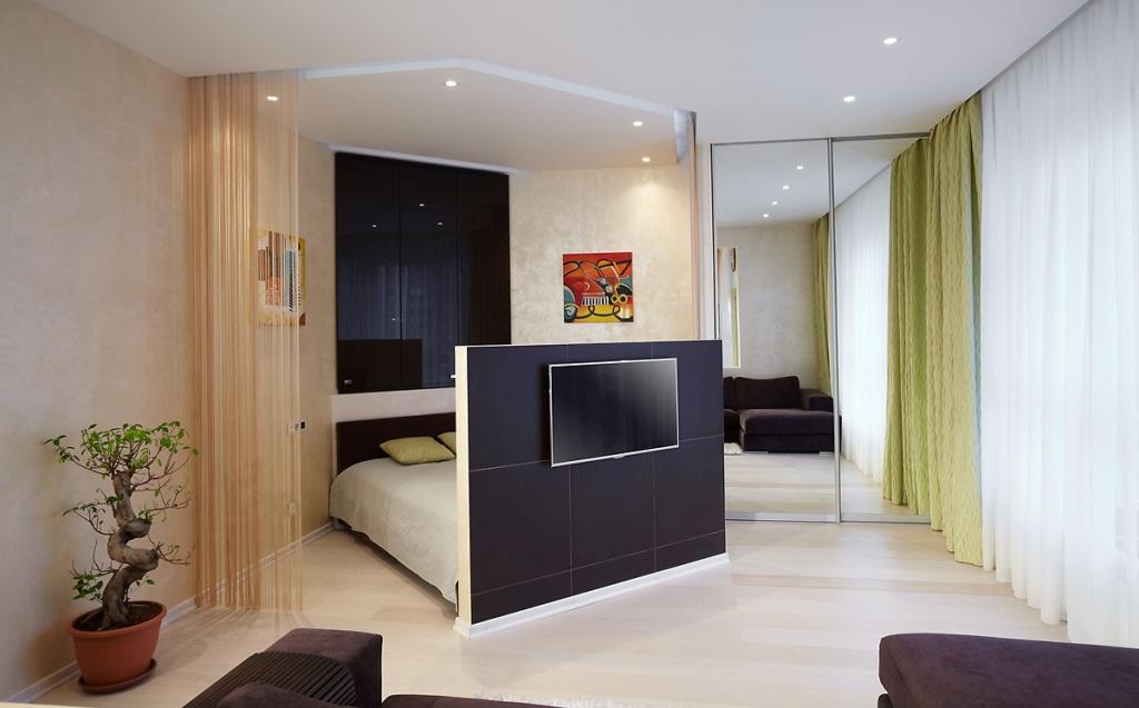 Планировка однокомнатной квартиры - от ремонта до дизайна ин.