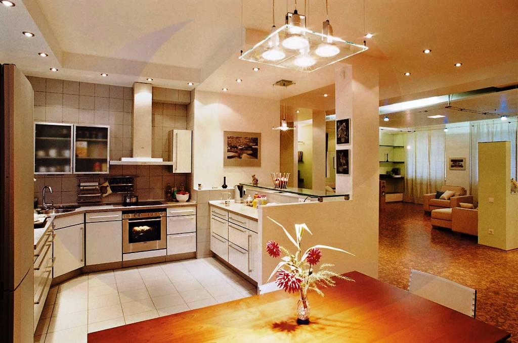Красивые люстры для кухни