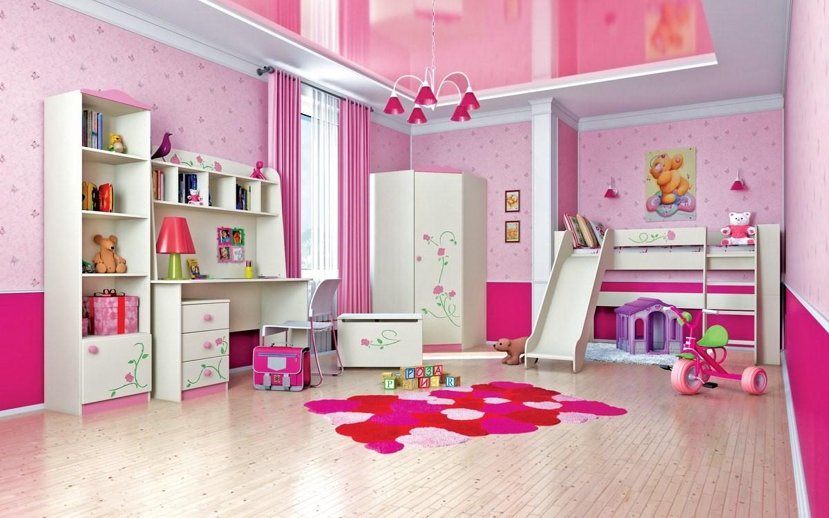 детская мебель для девочки Розалия, Фабрики Мебель-Неман