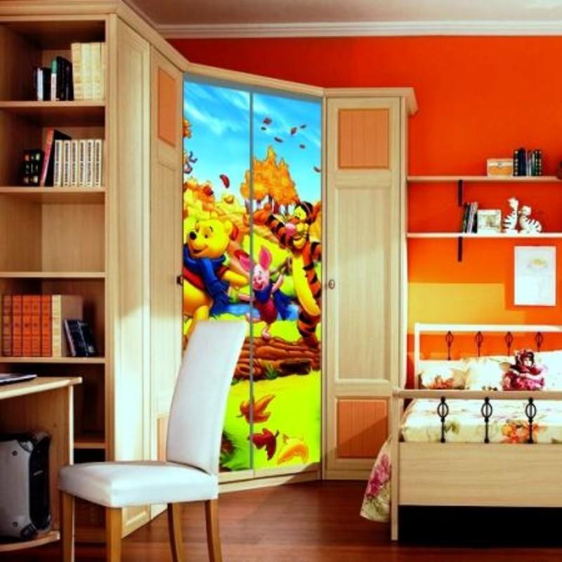 Дизайн стен в детской фото