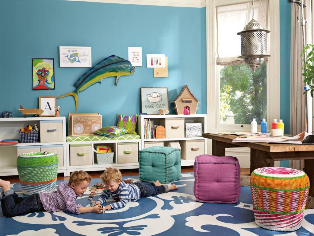 Игровая зона в детской комнате – Terra incognita