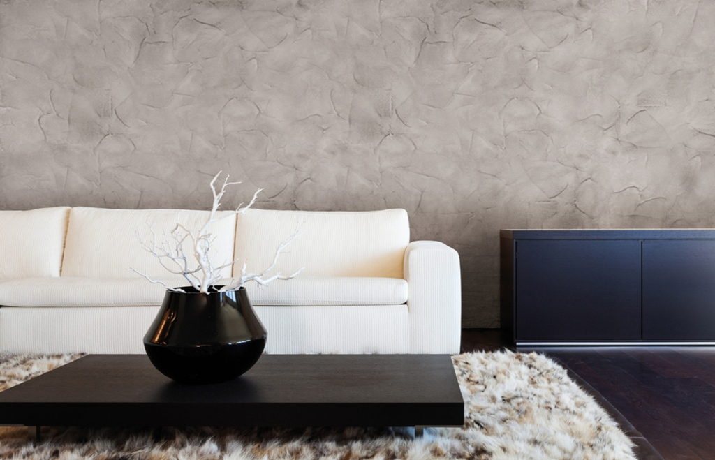Декоративная штукатурка в интерьере – совершенство и безупречность отделки
